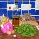 Spinach Pasta: Ingredients