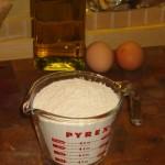Spinach Pasta: Flour