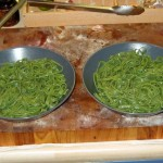 Spinach Pasta: Cooked!