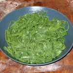 Spinach Pasta: Closer
