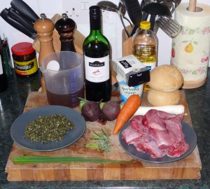 Most of the ingredients