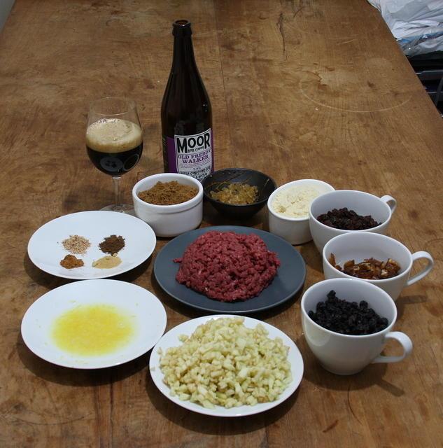 Ingredients, prepared