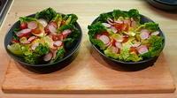 Salad Arranged
